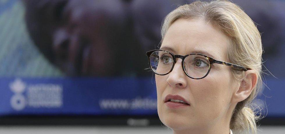 Německá politička Alice Weidelová ze strany AfD