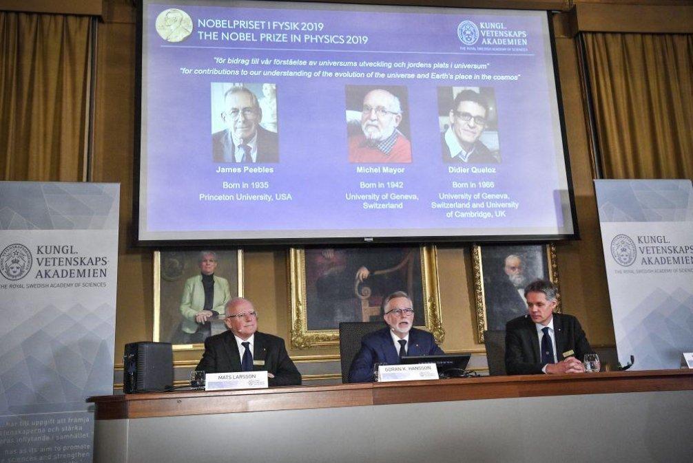 Vyhlášení Nobelovy ceny za fyziku