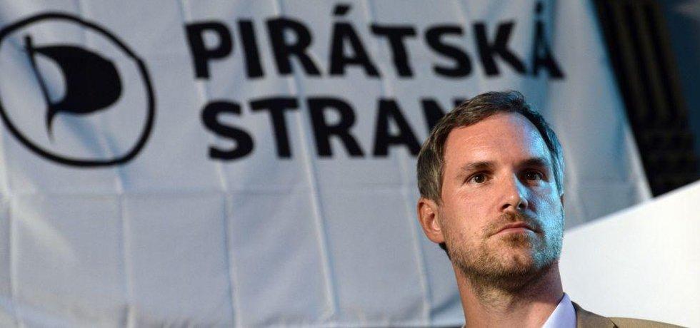 Lídr Pirátů Zdeněk Hřib