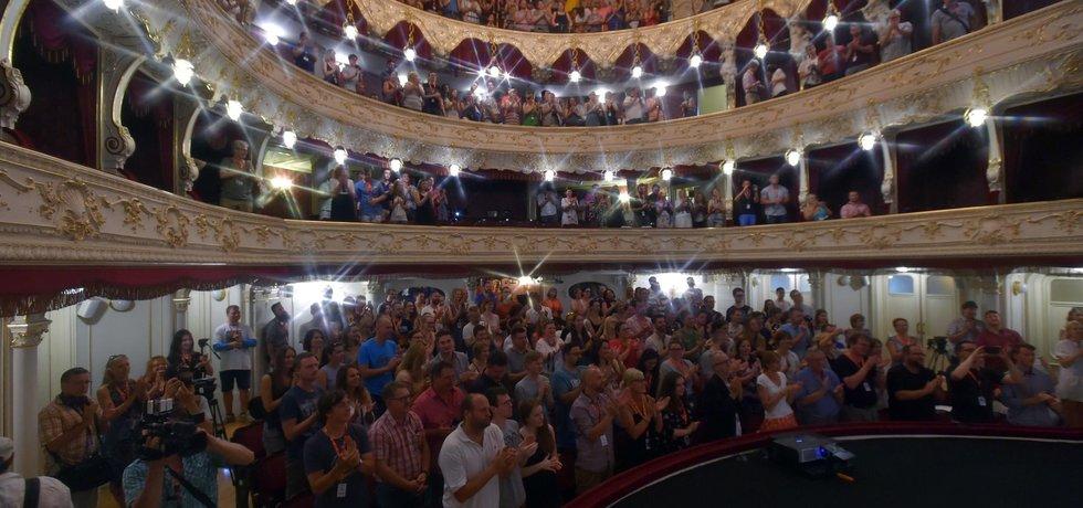 Karlovarské městské divadlo, ilustrační foto