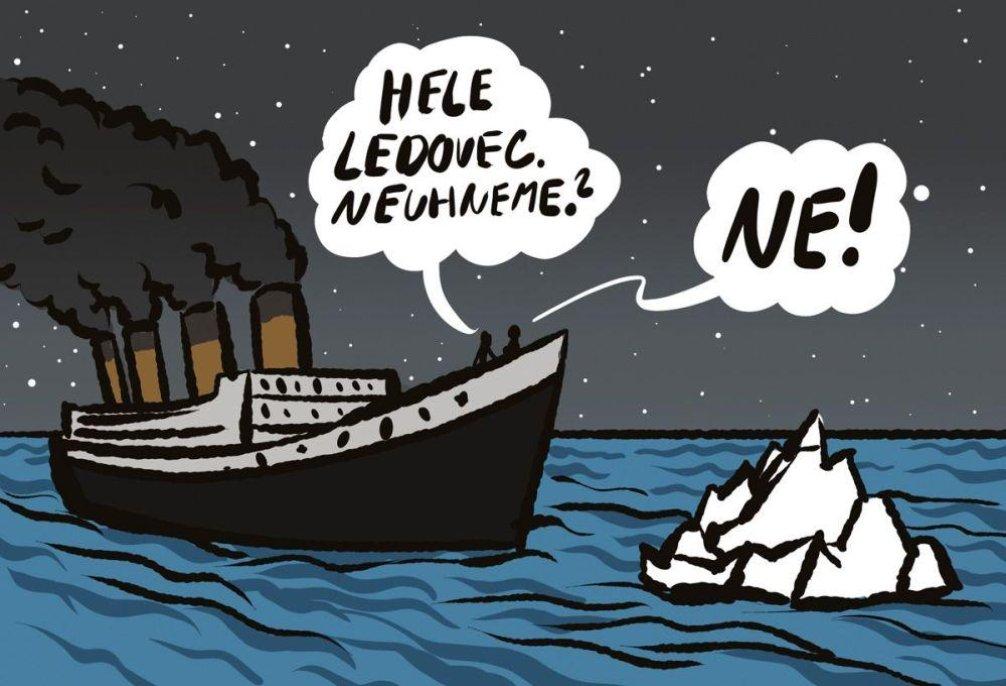 Nesmiřitelní na Titaniku