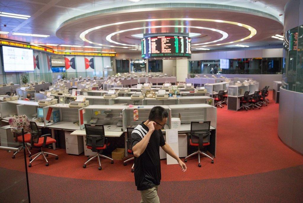 Burza v Hongkongu