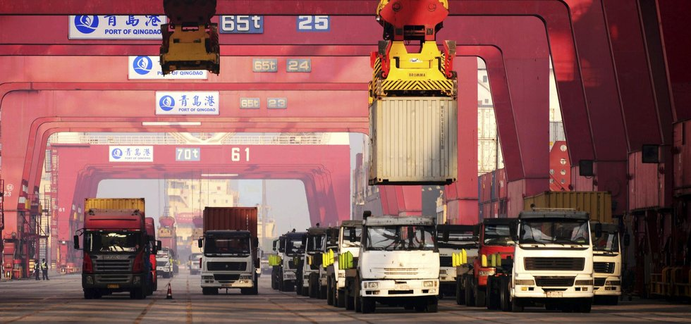 čínská ekonomika, ilustrační foto