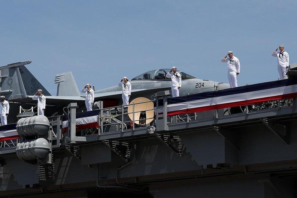USS Gerald Ford je prvním zástupcem nové generace nosičů letadel
