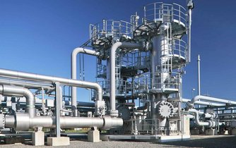 Zásobník zemního plynu - ilustrační foto