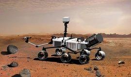 Mars Rover Curiosity (Zdroj: NASA)