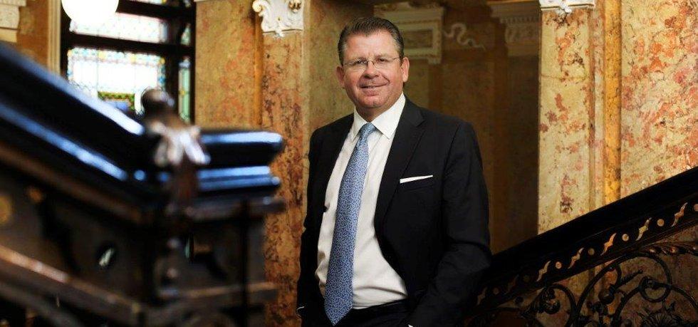 Matthias Albert z Bank Gutmann