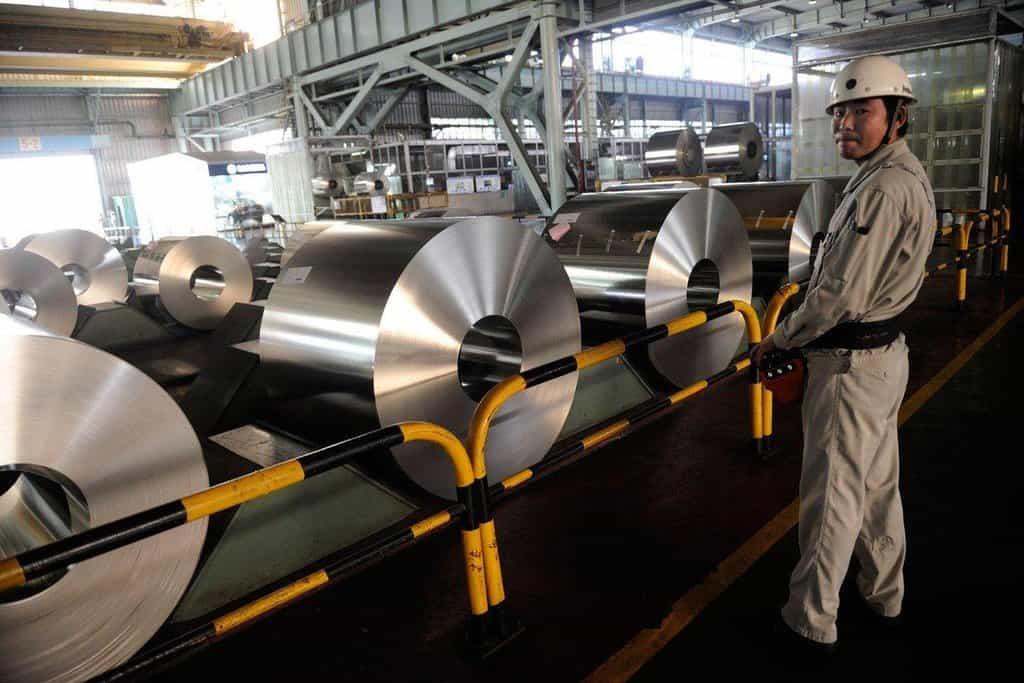 Výroba oceli, ilustrační foto