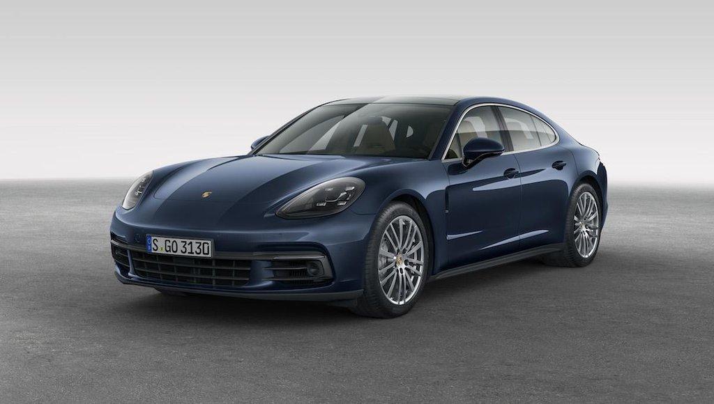 Porsche Panamera 4S Diesel (2017)
