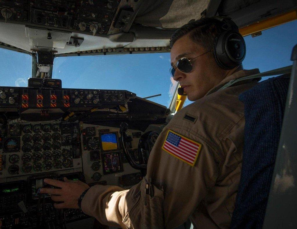 Americký vojenský pilot, ilustrační foto