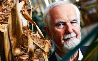 Profesor Ivan Vaníček, majitel rodinných lesů na Lnářsku.