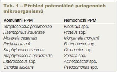 Nozokomiální infekce a infekce multirezistentními organismy v podmínkách intenzívní péče