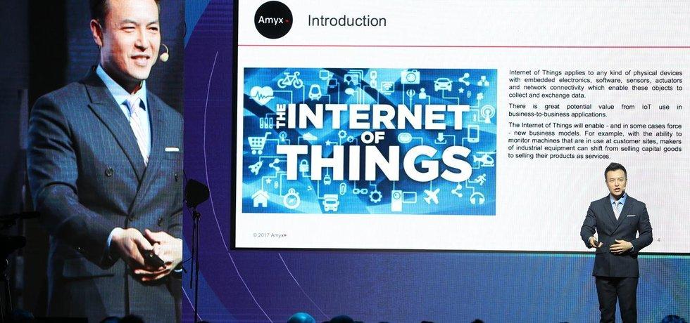 Expert na IoT Scott Amyx