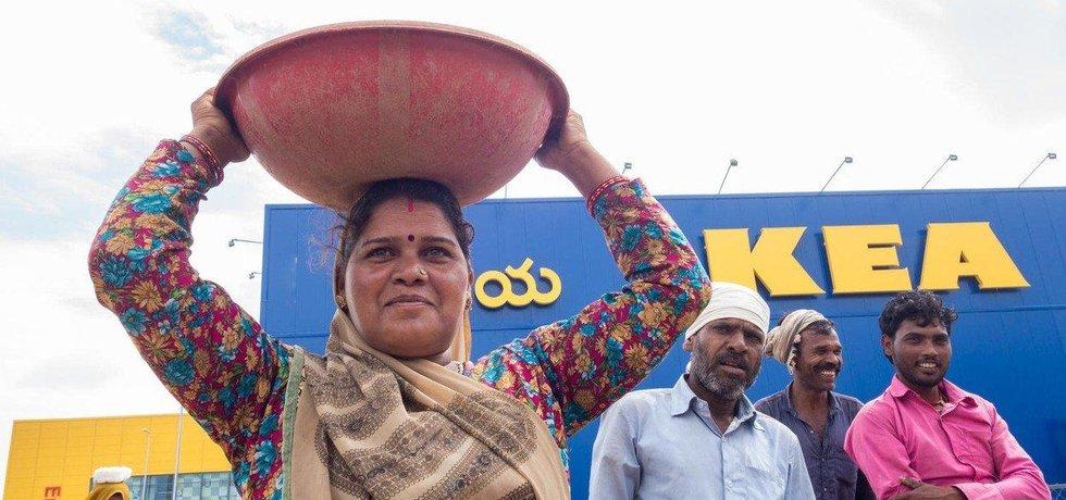 Ikea otvírá první prodejnu v Indii