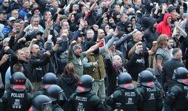 Protesty v Chemnitzu