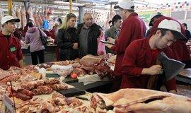 Moskevský trh, ilustrační foto