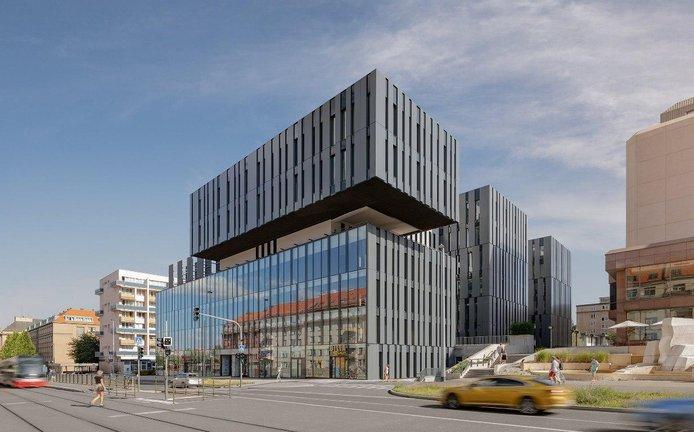 Budova BLOX v pražských Dejvicích