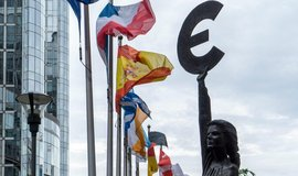Socha Europe v Bruselu, ilustrační foto