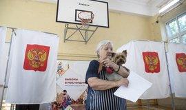 Volby v Moskvě, ilustrační foto