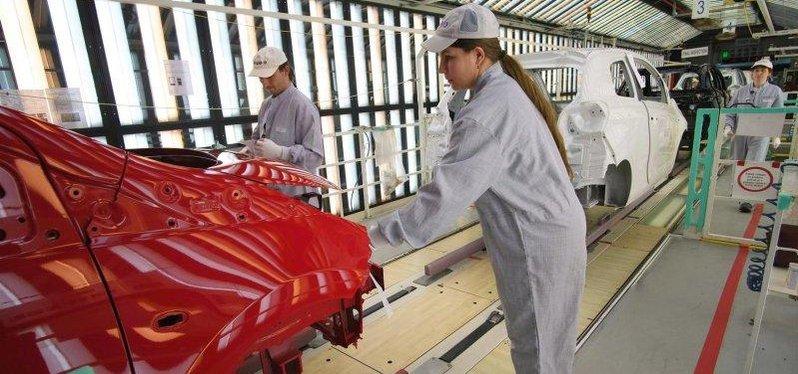 Výroba v kolínské továrně TPCA