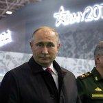 Ruský prezident Vladimir Putin na výstavě Army 2019, ilustrační foto