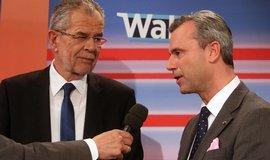 Alexander van der Bellen a Norbert Hofer (Zdroj: čtk)