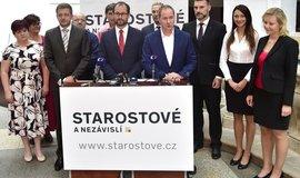 Hnutí STAN představilo kandidátky