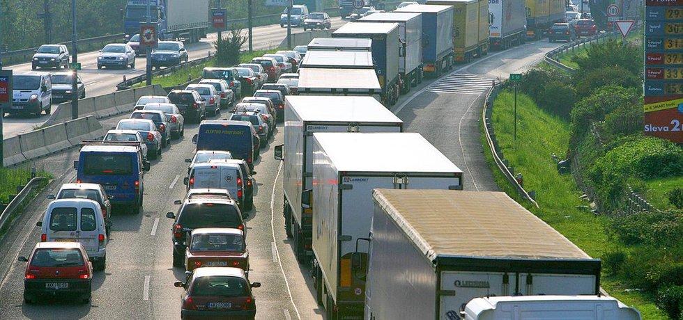 Silniční doprava - ilustrační foto