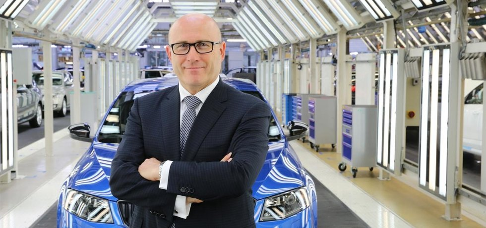 Šéf Škody Auto Bernhard Maier