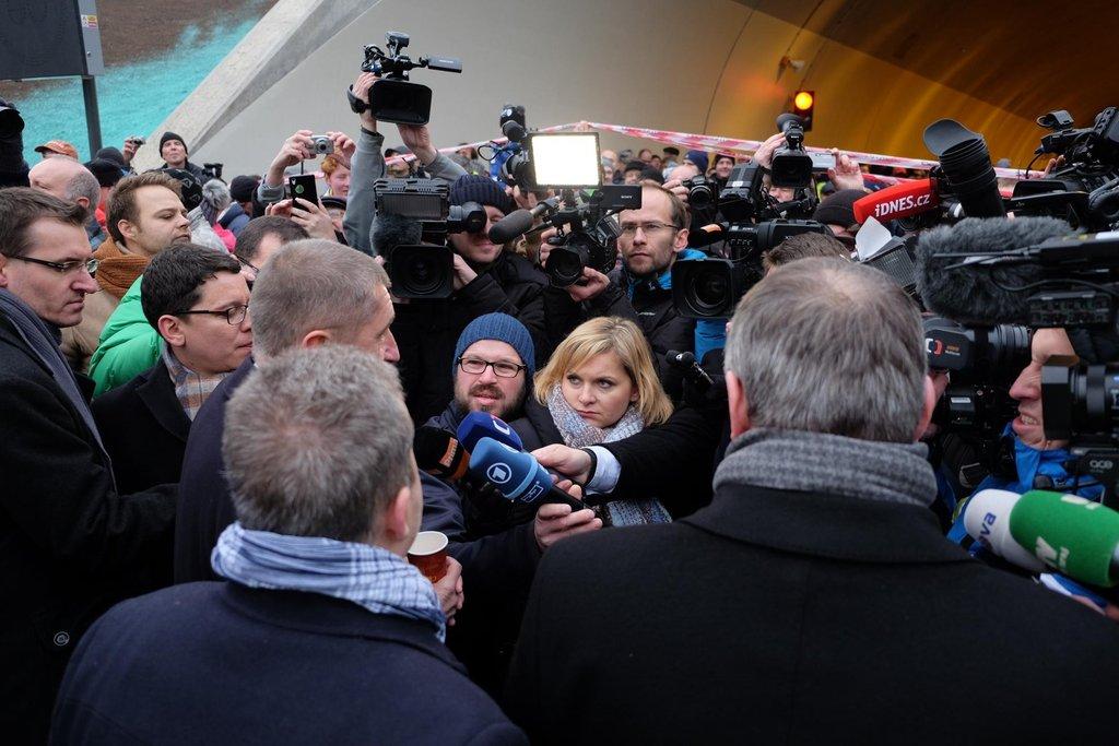 Podívat se přišel ale i šéf rezortu financí Andrej Babiš.