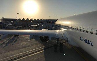 Boeing 737 Max 8 aerolinek Flydubai