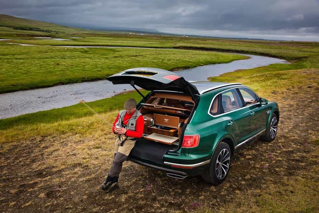 Bentayga Fly Fishing by Mulliner
