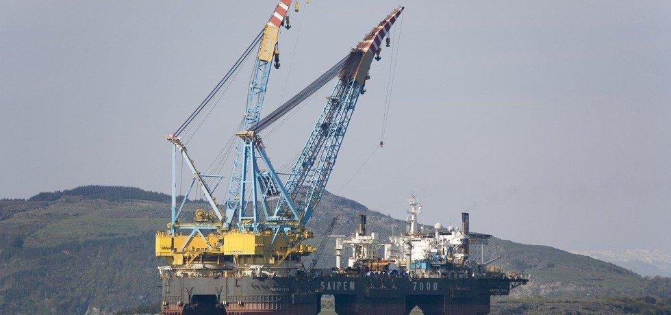 Těžba ropy v Norsku