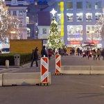 Neprůjezdná spodní část Václavského náměstí.