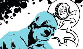 Ilustrace k eseji Levné peníze, drahé byty