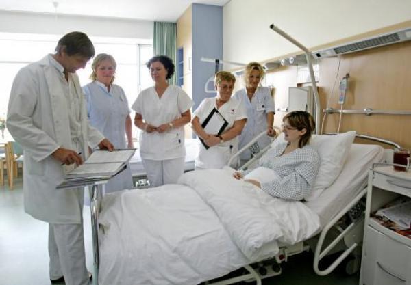 nemocnice, lékaři, pacient