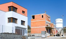Výstavba nových bytu v Jinonicích, ilustrační foto