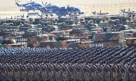 Čínská armáda 1. srpna 2017 slavila 90. výročí od založení, ilustrační foto