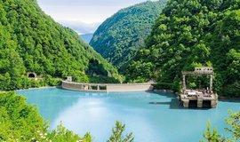 Vodní elektrárna Lajanuri (112,5 megawattu) je jednou z 15 vodních elektráren, které vlastní česká firemní skupina Energo-Pro v Gruzii.