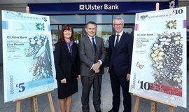 Ulster Bank představila nové bankovky