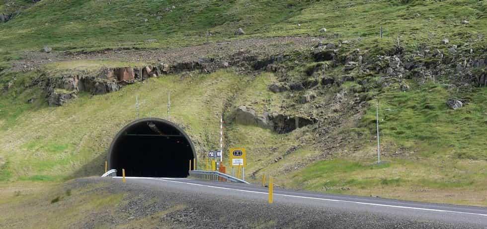 Ilustrační foto tunelu na Islandu