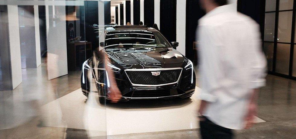 Prodejna vozů Cadillac v New Yorku, ilustrační foto
