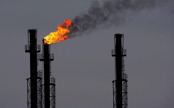 Rafinerie plynu a ropy v rumunském městě Brazi
