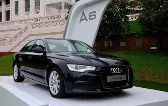 Ideální auto pro německé řidiče? Audi v černé barvě. Ilustrační foto.