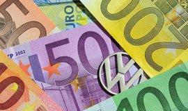 Volkswagen a peníze, ilustrační foto