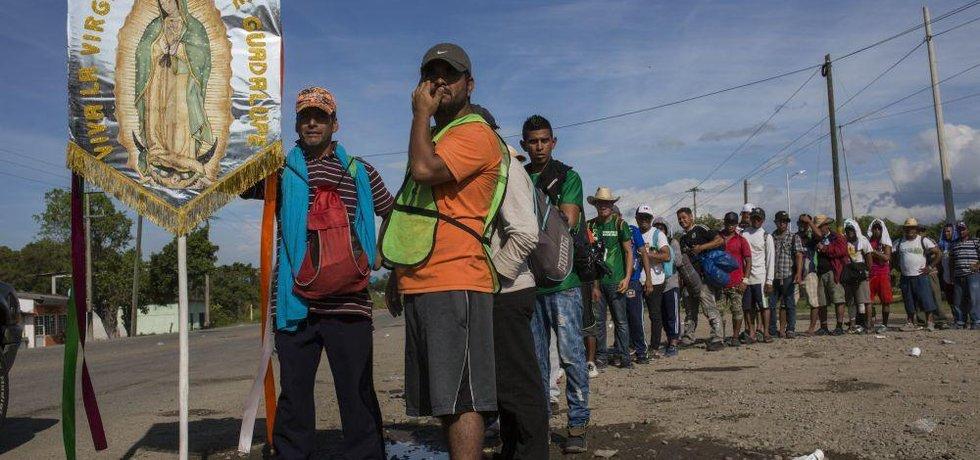 Migranti míří do Spojených států