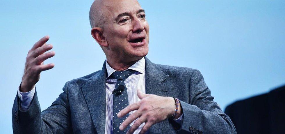 Zakladatel Amazonu Jeff Bezos, nejbohatší člověk na světě