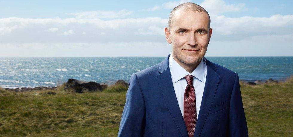 Guðni Jóhannesson, islandský prezidentský kandidát. Zdroj: gudnith.is