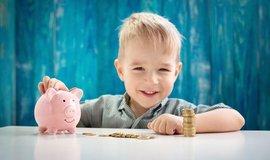 Děti a finanční gramotnost, ilustrační foto