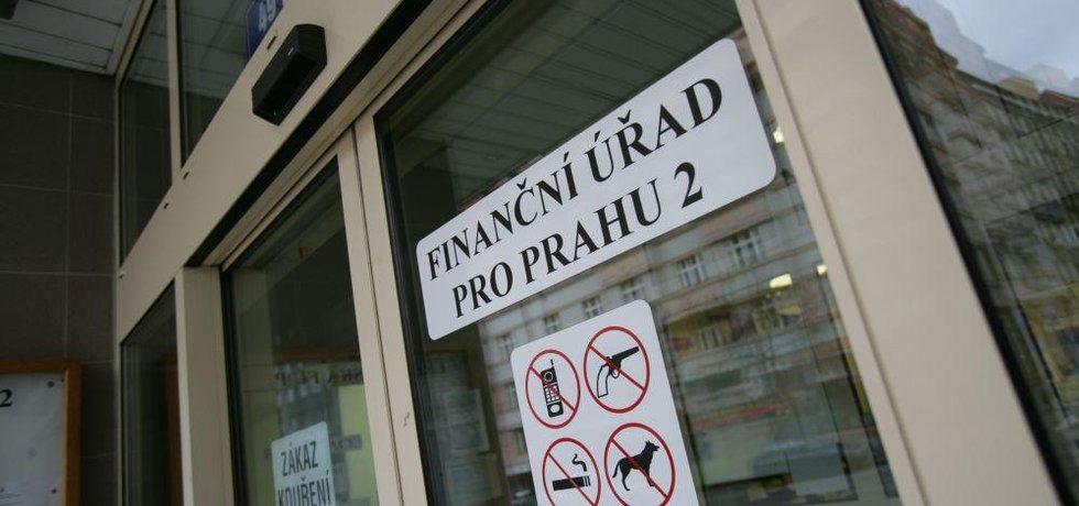 Finanční úřad, ilustrační foto